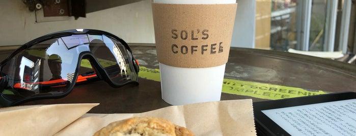 SOL'S Coffee Roastery is one of y.hori'nin Beğendiği Mekanlar.