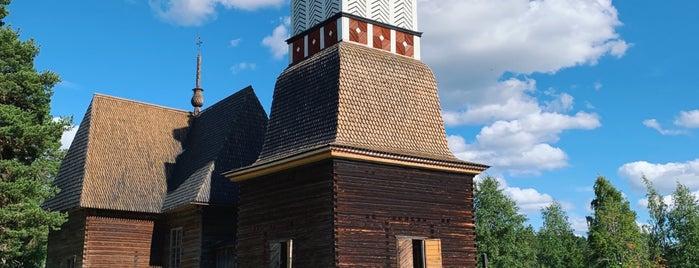 Vanha kirkko is one of Lieux qui ont plu à Alexander.