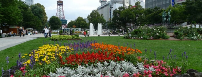 Odori Park is one of Sapporo.