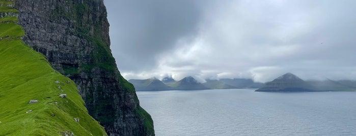 Kallur Lighthouse is one of Faroe Islands.