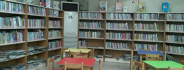 Kocaeli İl Halk Kütüphanesi is one of Tempat yang Disukai Canan.