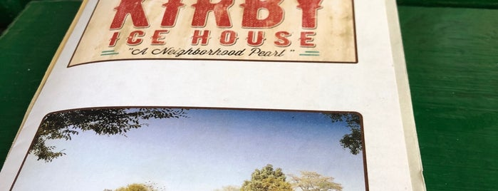 Kirby Ice House is one of Bars in H-Town.