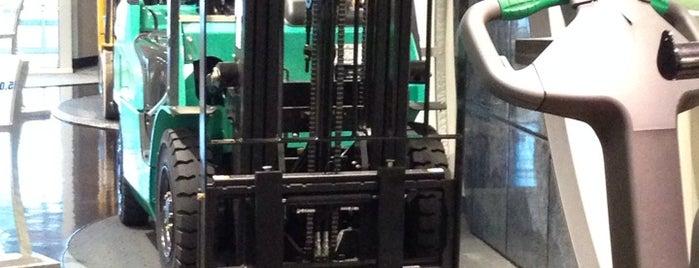 Mitsubishi Caterpillar Forklift America Inc. is one of Lugares favoritos de Harv.