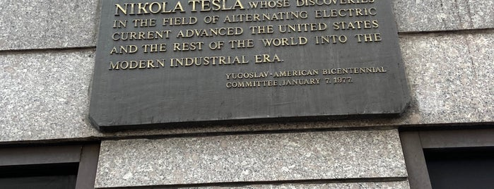 Nikola Tesla Room at The New Yorker Hotel is one of Atlas Obscura NYC.