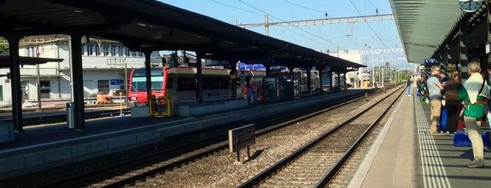 Bahnhof Solothurn is one of สถานที่ที่ Selin ถูกใจ.