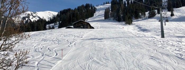 Wasserngrat Mountain is one of Verbier- Gstaad- Courchevel- Genève.