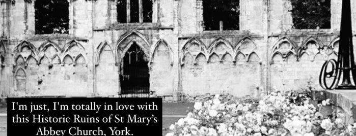 St Mary's Abbey is one of Went Before 4.0.