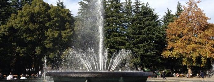 Hibiya Park Fountain is one of Lugares guardados de Hide.