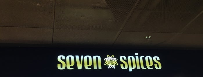 Seven Spices is one of Orte, die Amit gefallen.