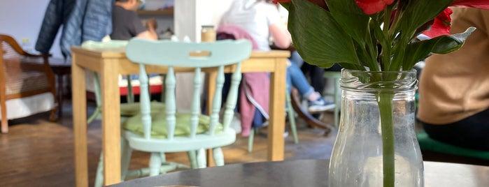 Ostara Cafe is one of Edinburgh.