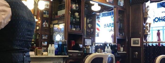 York Barber Shop is one of Lugares favoritos de Jon.