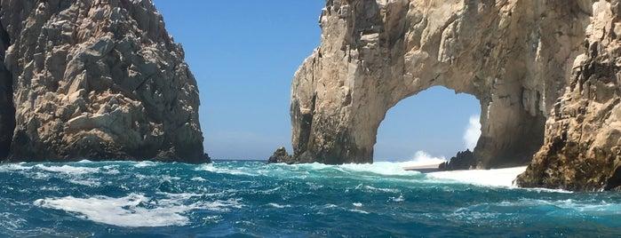 El Arco de Cabo San Lucas is one of Jorge : понравившиеся места.