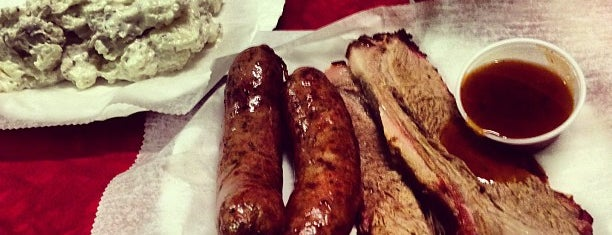 Prause's Meat Market is one of Must-visit BBQ in Texas.