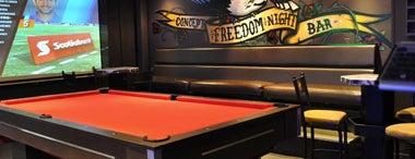 Freedom is one of Restaurantes con pantalla para ver el Mundial.