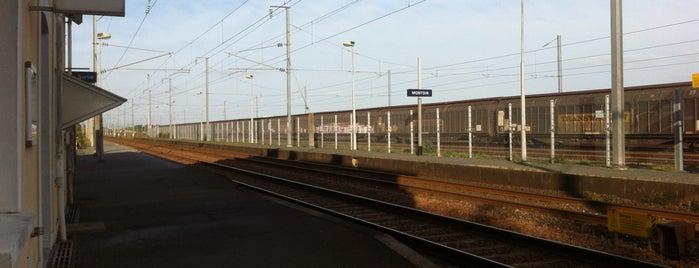 Gare SNCF de Montoir-de-Bretagne is one of Hotspots Wifi Orange - Vacances.