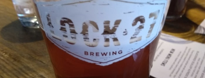 Lock 27 Brewing Company - Dayton Brewpub is one of Tempat yang Disukai Marcus.