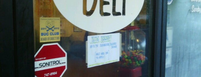 East Bay Deli is one of Lugares favoritos de Jeff.