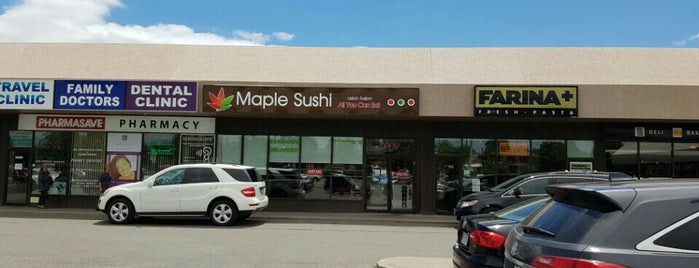 Maple Sushi is one of Lieux qui ont plu à Vadim.