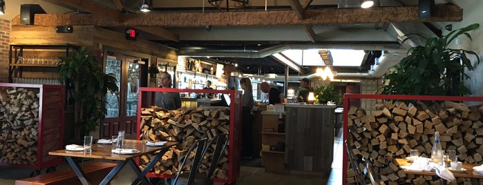 WOOD STACK Pizza Kitchen is one of Lieux qui ont plu à Andrew.
