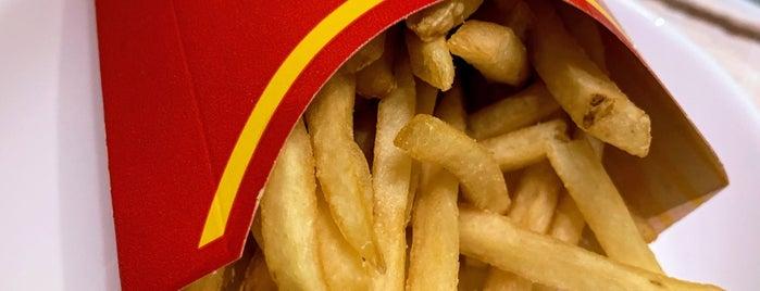 McDonald's is one of Minha lista.