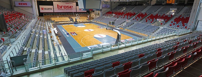 brose Arena is one of Lugares favoritos de Jan.