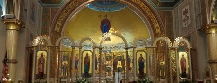 St. Nicholas Ukrainian Catholic Cathedral is one of Visited Chicago Architecture.