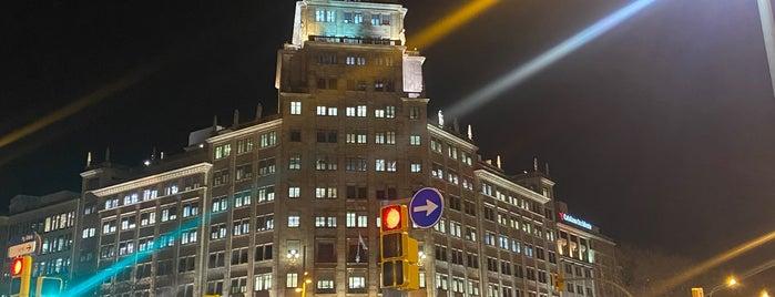 La Dreta de l'Eixample is one of Barcelona.