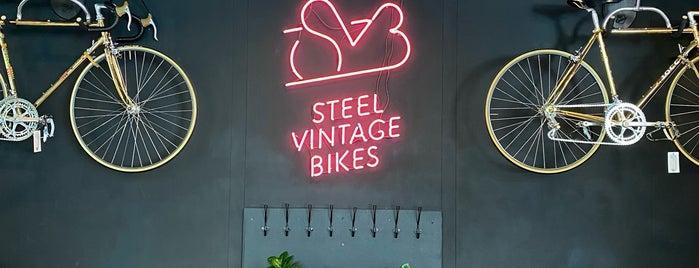 Steel Vintage Bikes Café is one of Berlin.