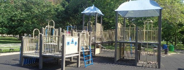 Buzz Vollmer Playground is one of Virtual Tour of Flushing Meadows Corona Park.