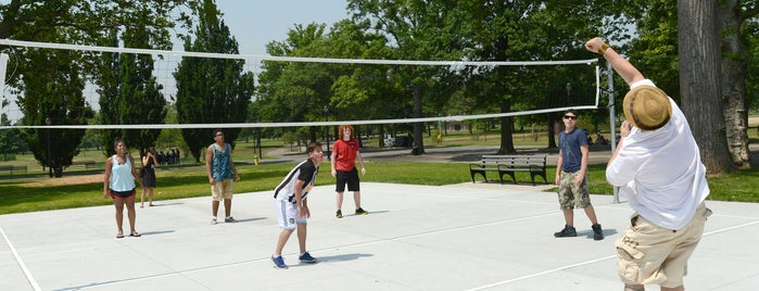 Flushing Meadows Corona Park Volleyball Courts is one of Virtual Tour of Flushing Meadows Corona Park.