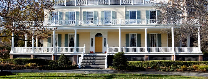 Gracie Mansion is one of New York City's Historic House Museums.