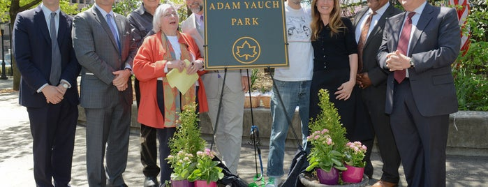 Adam Yauch Park is one of Lara's #NYCmustsee4sq.