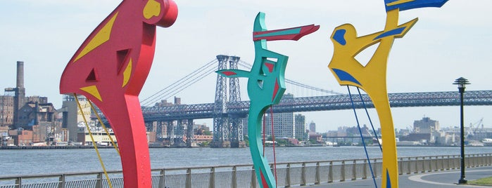 East River Park is one of Public Art in NYC Parks.
