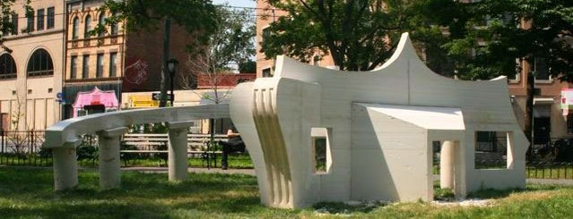 Tappen Park is one of Public Art in NYC Parks.