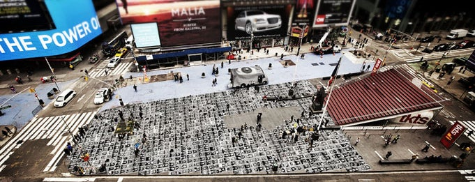 Father Duffy Square is one of Lugares guardados de Michelle.