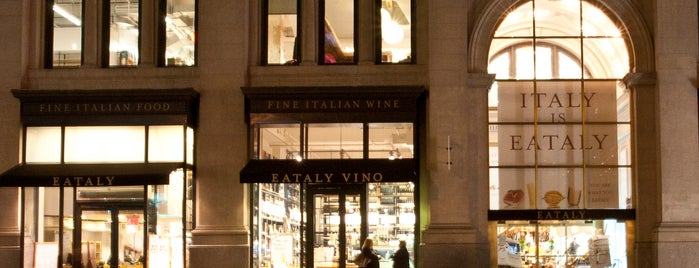 Eataly Flatiron is one of Flatiron Lunch Spots.