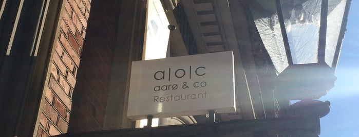 Restaurant a | o | c   aarø & co is one of The World's Best Restaurants.