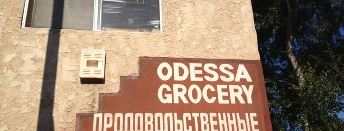 Odessa Russian Delicatessen is one of Lugares guardados de Justin.