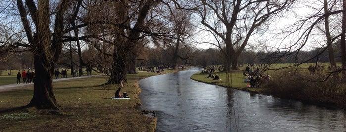 Englischer Garten Nordteil is one of Robさんのお気に入りスポット.