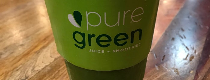 Pure Green is one of The New Yorkers: Veggie-Friendly.