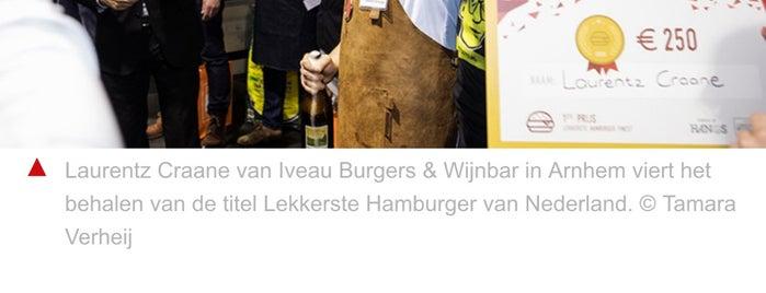 Iveau Burgers & Wijnbar is one of Velocity 17.