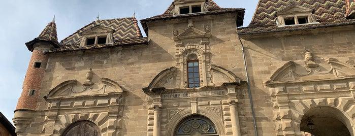 Abbaye de Saint Antoine is one of Les plus beaux villages de France.
