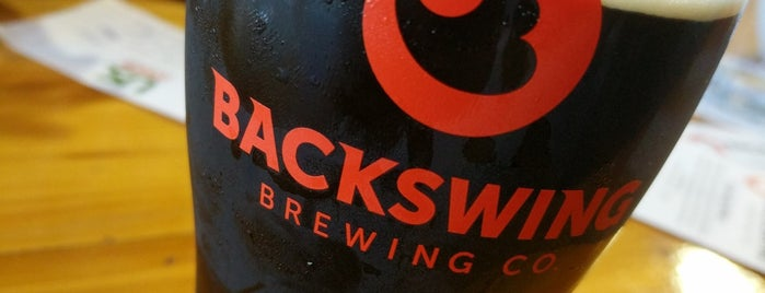 Backswing Brewing Co. is one of Locais curtidos por Rob.
