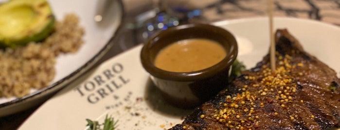 Torro Grill & Wine Bar is one of Lugares favoritos de Anton.