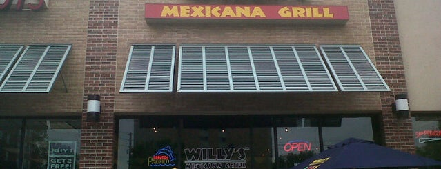 Willy's Mexicana Grill #6 is one of Favorites.