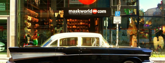 maskworld.com Store is one of Berlin.
