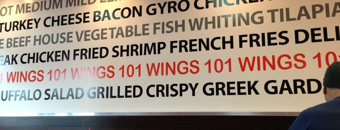 Wings 101 is one of places i want to go.