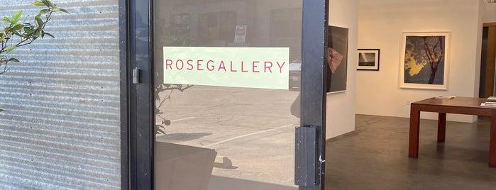 Rose Gallery is one of LA Galleries.