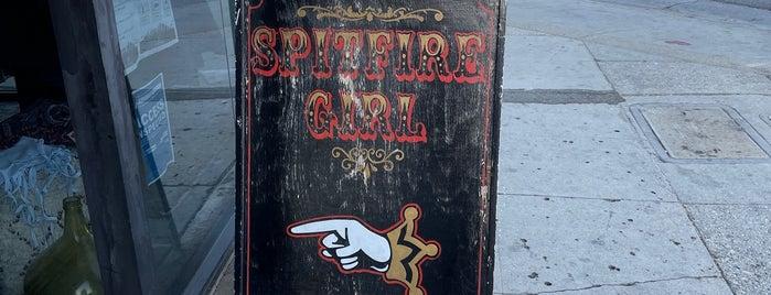 Spitfire Girl is one of LA Top Shops.