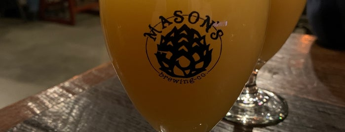 Masons Brewing Company is one of Maine 🦞.